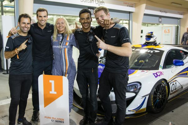 Mia Flewitt secures second successive Pure McLaren GT Series title in Bahrain